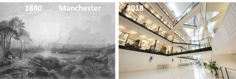 SYNBIOCHEM - Manchester Then and Now